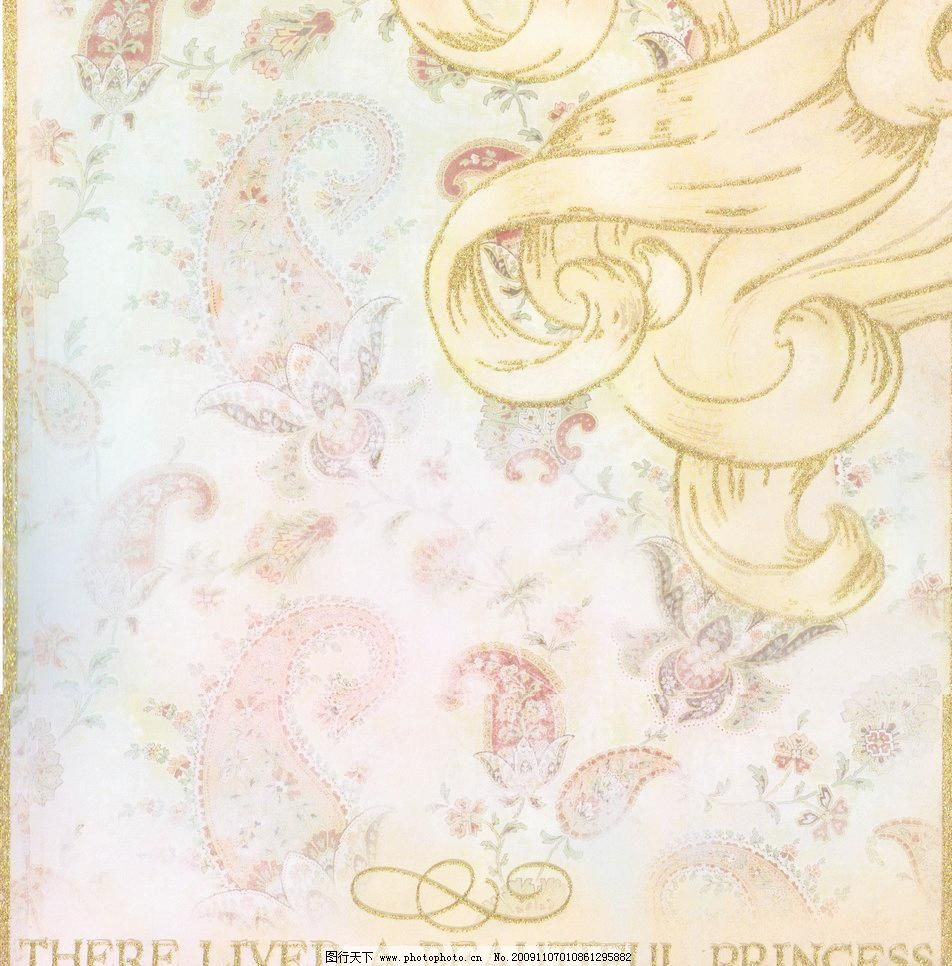 欧式花纹图片,背景 背景底纹 彩页背景 底纹边框 高清