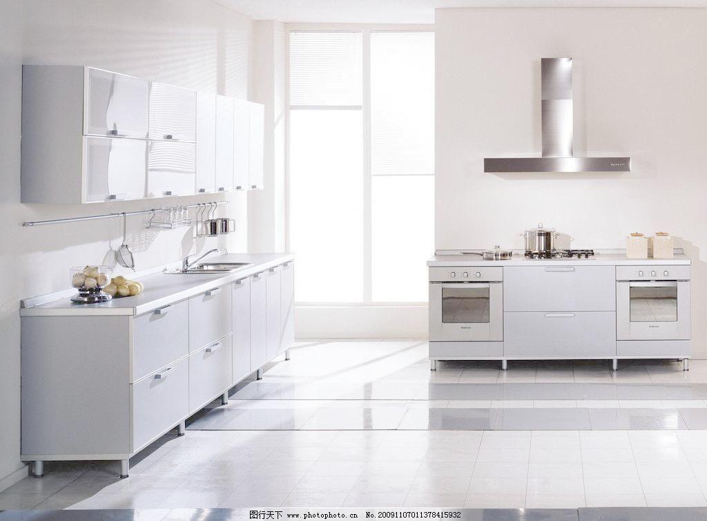 厨房装修图片 小区 别墅 伙房 厨柜 柜子 厨房装修效果图 欧式风格
