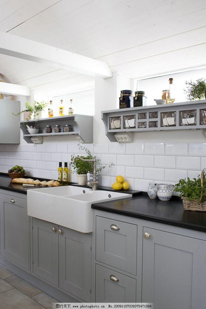 廚房 廚房高清圖片 廚房裝修圖片 小區 別墅 伙房 廚柜 柜子