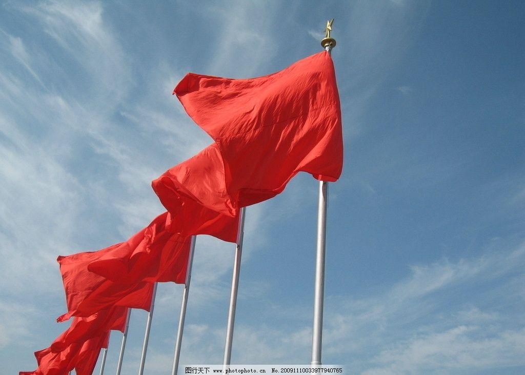 阶梯式石材红旗雕塑