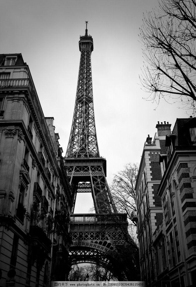 巴黎铁塔 艾菲尔铁塔图片