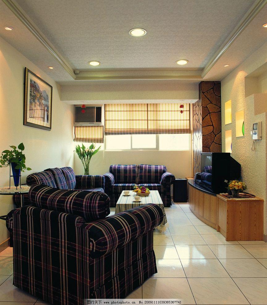 欧式豪华客厅一角高清摄影 室内装修      地板 茶几 室内摆设 室内摄