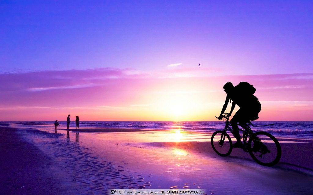 紫色黄昏 黄昏 紫色 蓝色 湖水湖面 日落 剪影 山水风景 自然景观