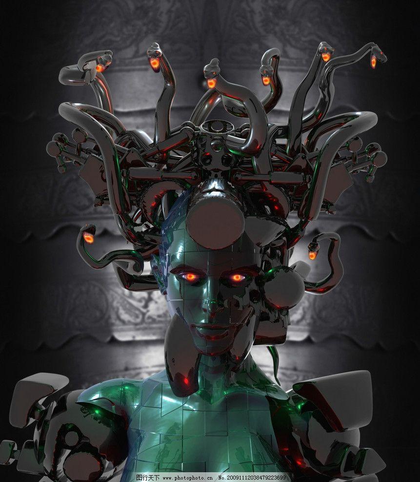 科幻电影变成现实 未来人类与机器人交配