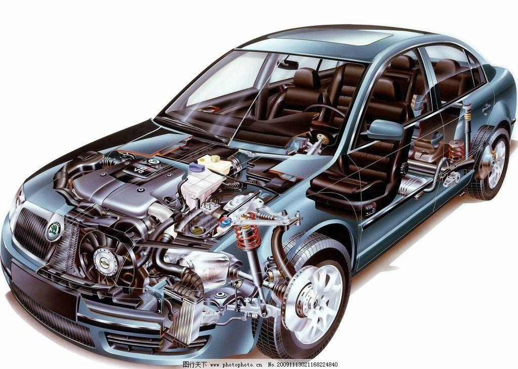 汽车结构图 2图片