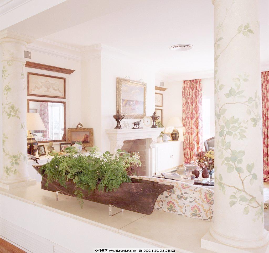 欧式高清客厅 精美装修一角图片