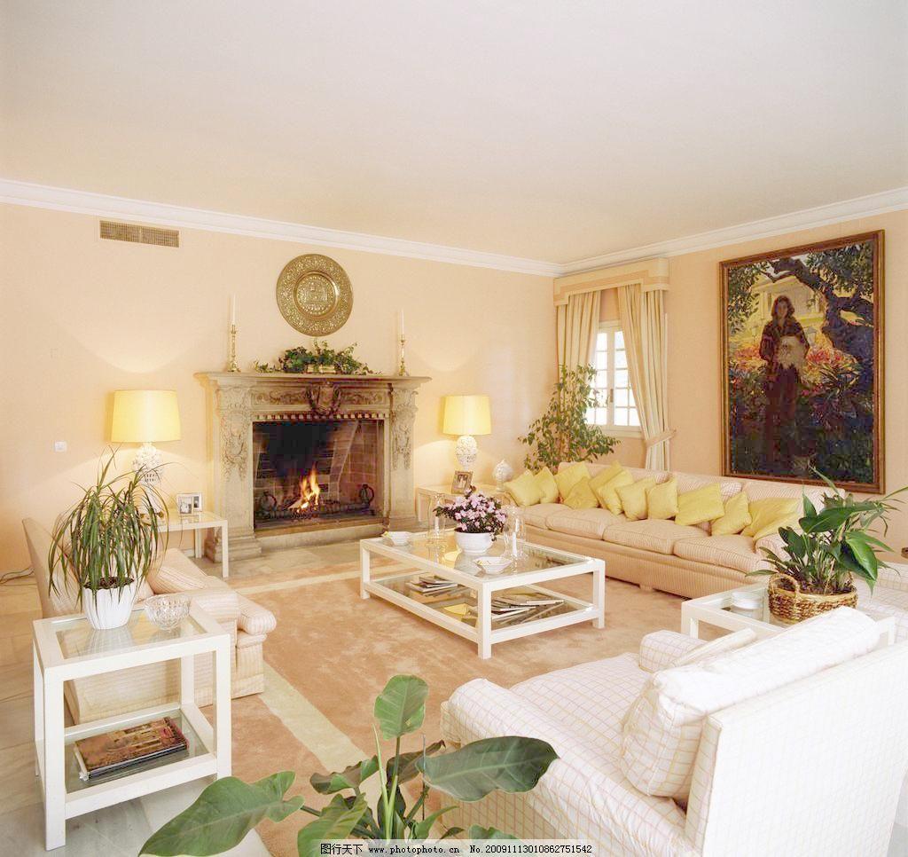 欧式高清客厅 精美装修一角 茶几 地板 建筑园林 沙发 摄影 室内摆设