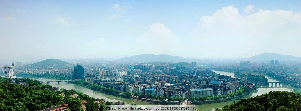 醴陵全景 醴陵景色 河流 城市建筑 旅游风景 国内旅游 旅游摄影 摄影