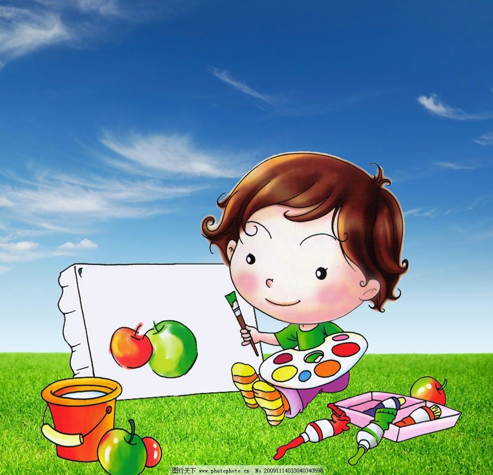 幼儿园环境装饰图片