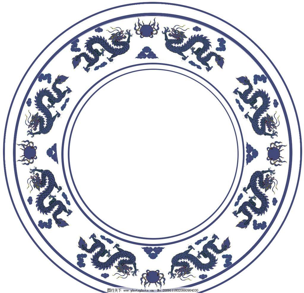 青花瓷贴图纹理材质 青花瓷 贴图 纹理 材质 素材 其他素材 底纹边框