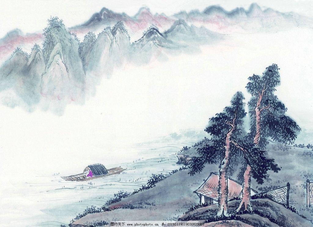 寄情山水 山 水 风景 国画 古典 美术 绘画 中国美术图库 绘画书法 文