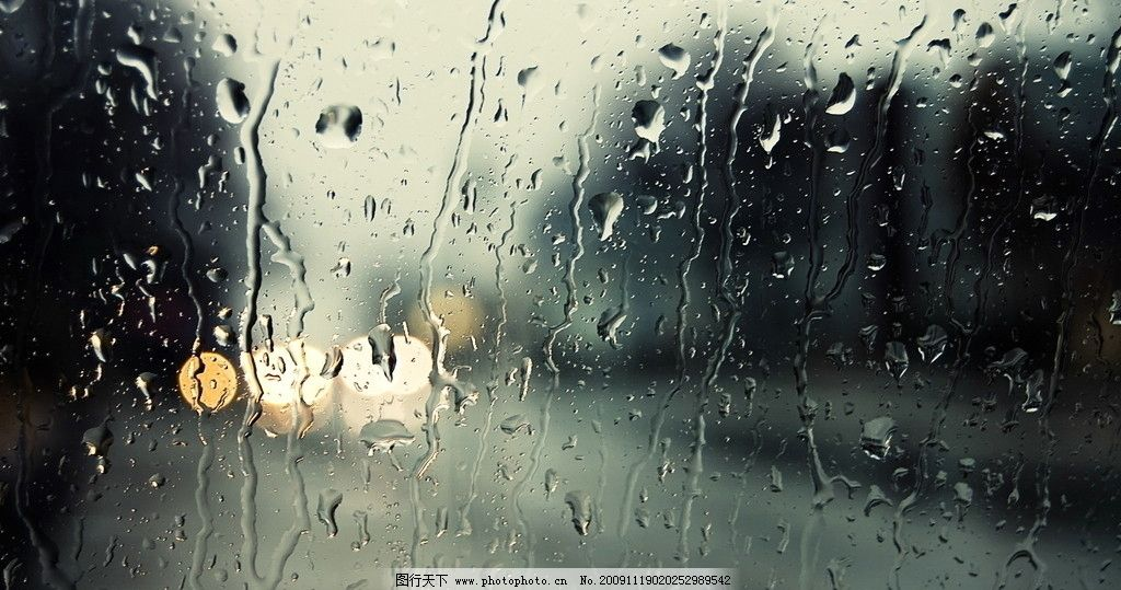 win7系统磨砂雨主题壁纸图片