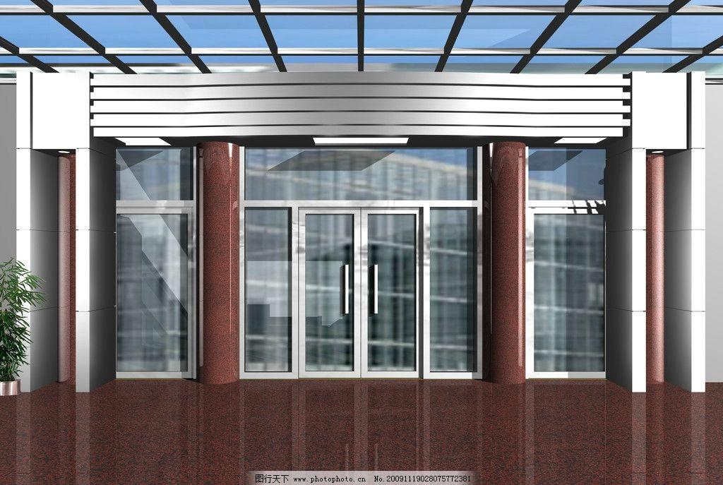 门头效果图 门头 不锈钢门头 大理石门头 建筑设计 环境设计 设计 300