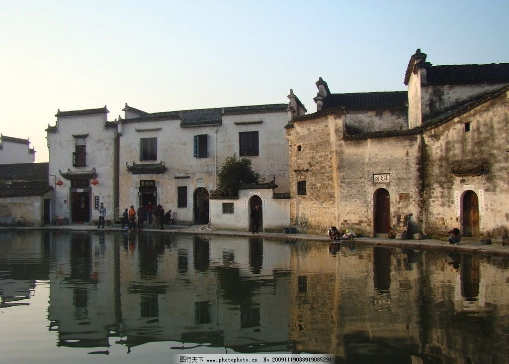 安徽宏村旅游景点图片