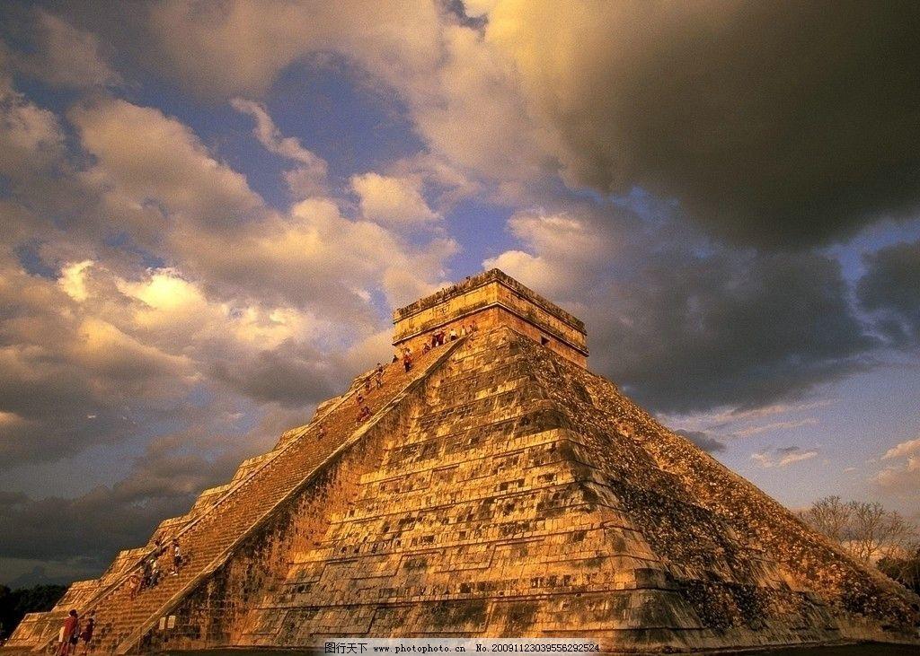 玛雅金字塔图片