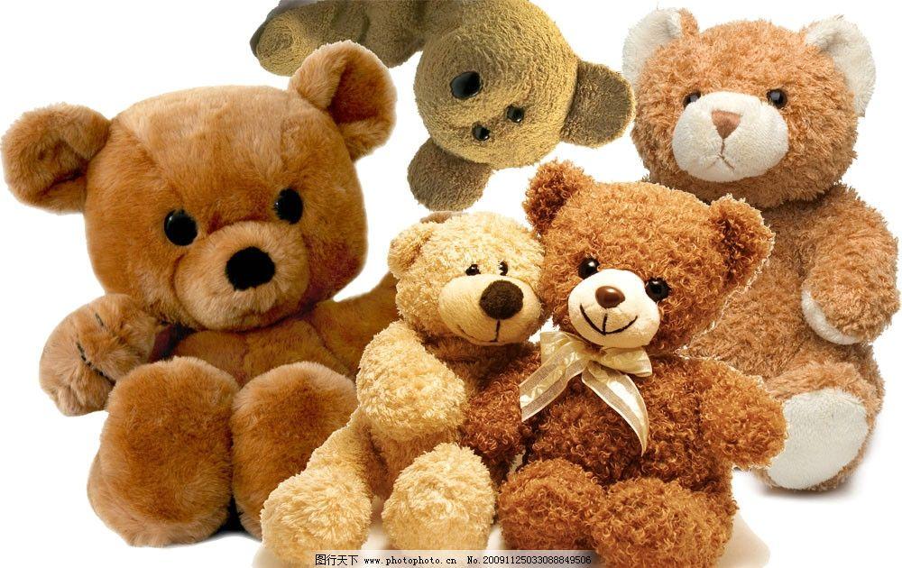 psd分层文件 可爱的小熊 小熊都是独立哒图片