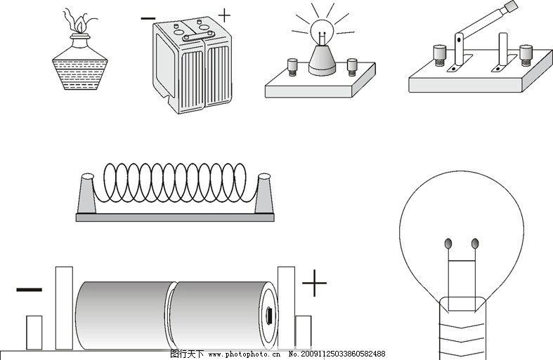 科学电路实验边框