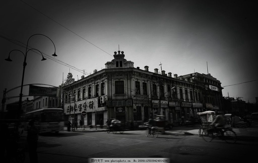 哈尔滨老道外中华巴洛克建筑 欧式建筑 老建筑 建筑摄影 建筑园林