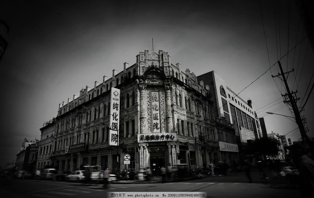 哈尔滨老道外中华巴洛克建筑图片