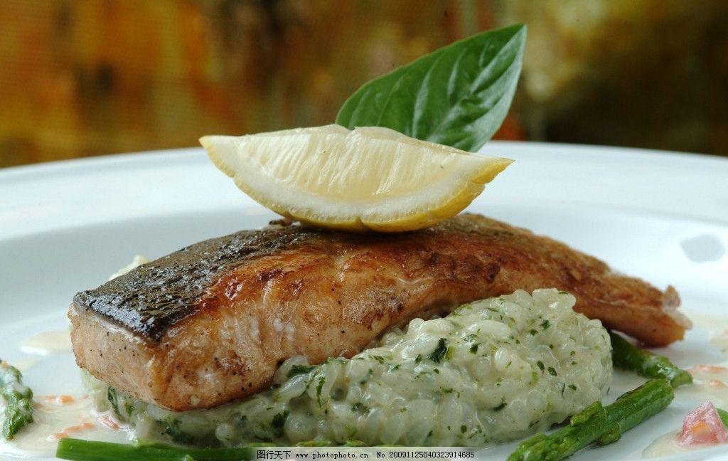 西餐美食 法国美食 餐饮 西餐 鱼 海鲜 餐饮美食 摄影 72dpi jpg