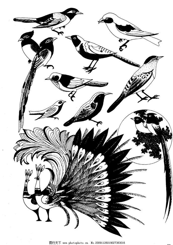 现代装饰动物图案图片