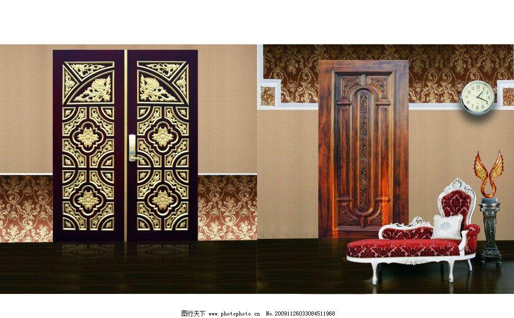 古典欧式风格 门