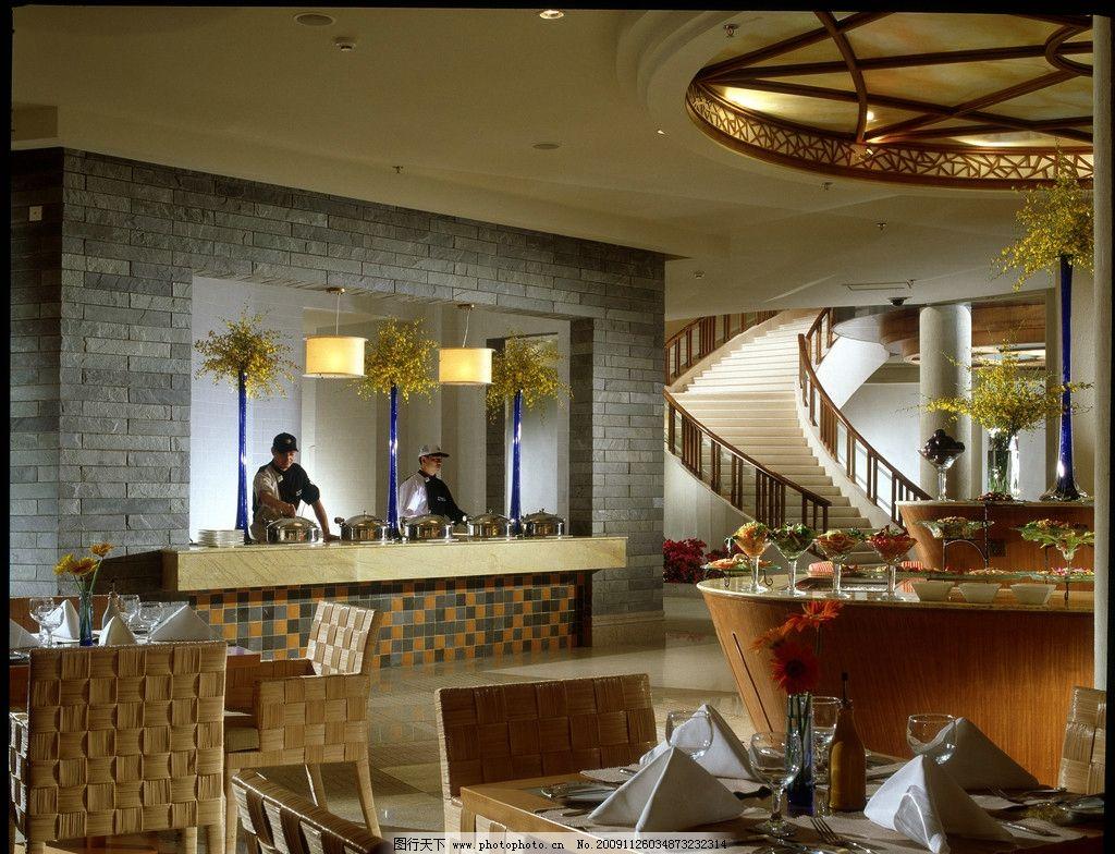 酒店西餐厅图片 酒店 西餐厅 厨师 厨房 寿司 灯光 美食 画册 图片 i酒店高清图片集 自然风景 自然景观 摄影 2000DPI JPG