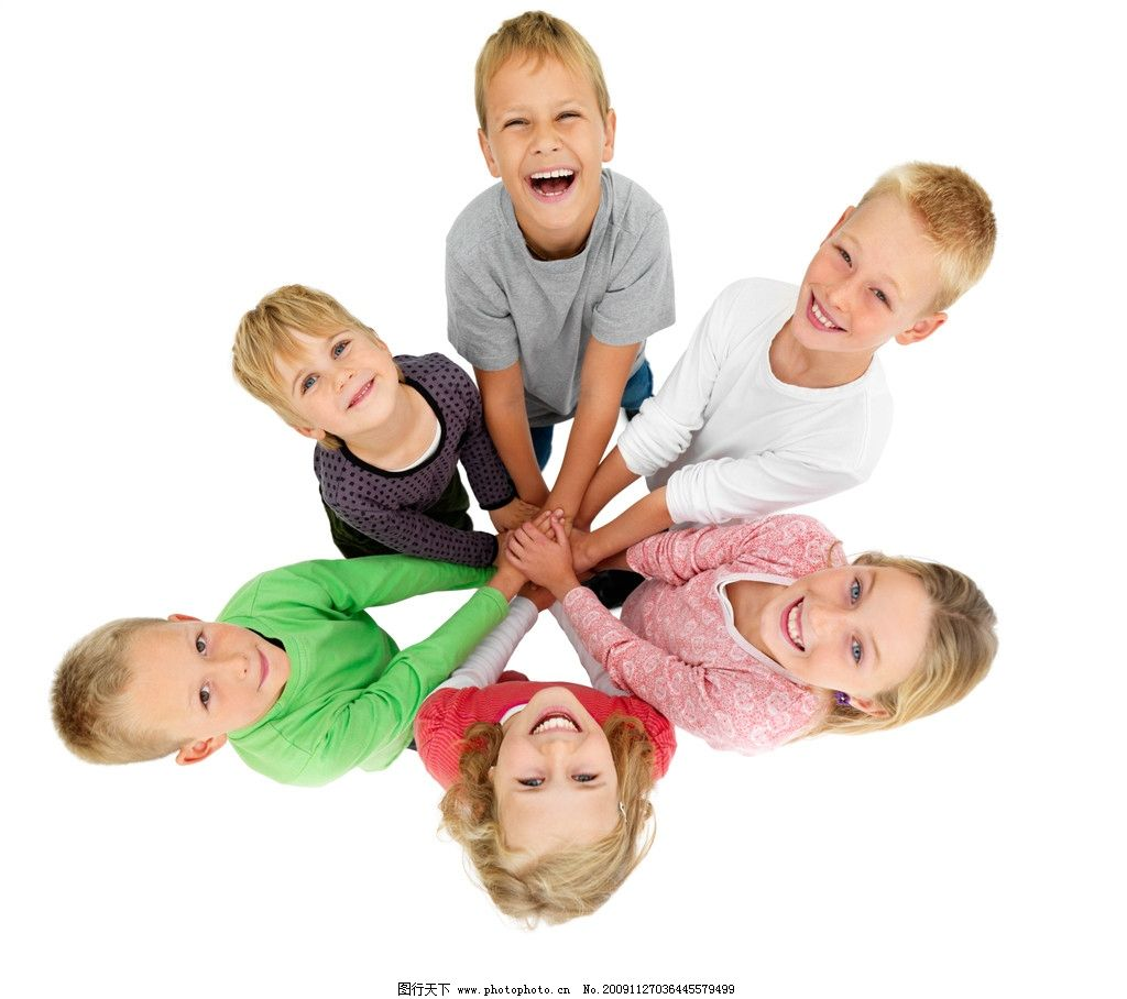 向上看的宝宝 小孩子 一群孩子 儿童 国外儿童 学生 人物 高清图片