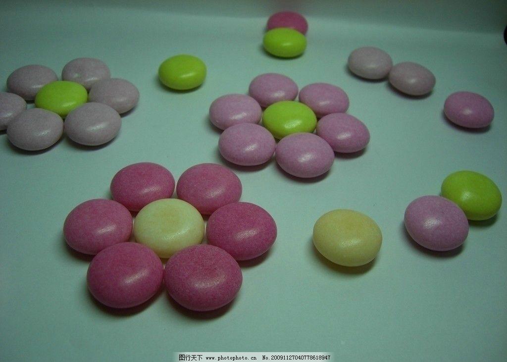 糖果花 糖果 色彩 圆 花朵 甜 其他 餐饮美食 摄影 72dpi jpg