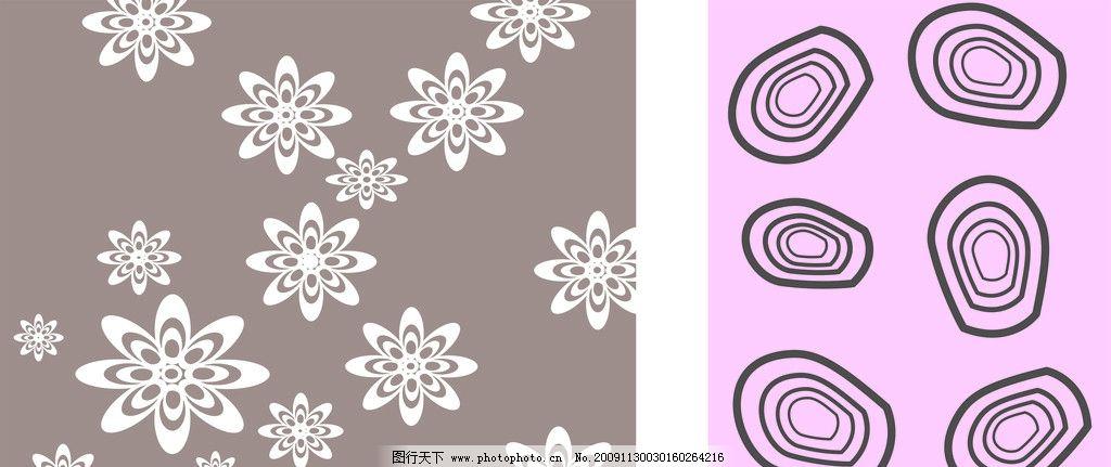 移门 玻璃贴画 花纹 底纹 花朵 背景 移门图案 广告设计 矢量