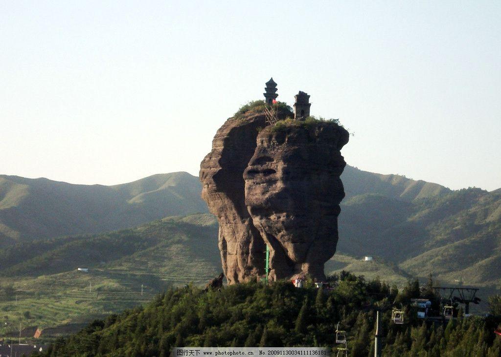双塔山 承德 远山 美丽的承德风光 自然风景 旅游摄影 摄影 72dpi jpg
