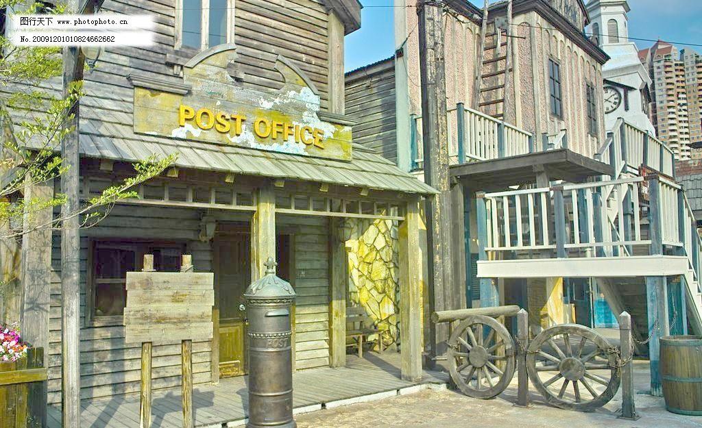 欧式建筑 小木屋图片