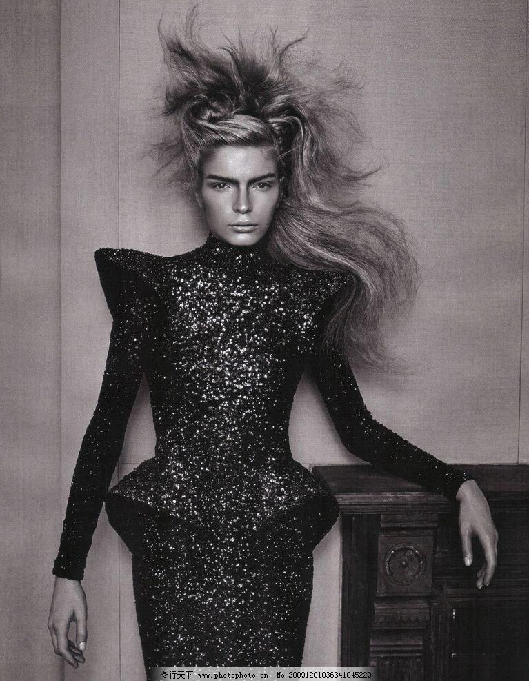 时尚发型 模特 发型 时尚 美女 冷酷 最新流行 t台 个性 明星 明星