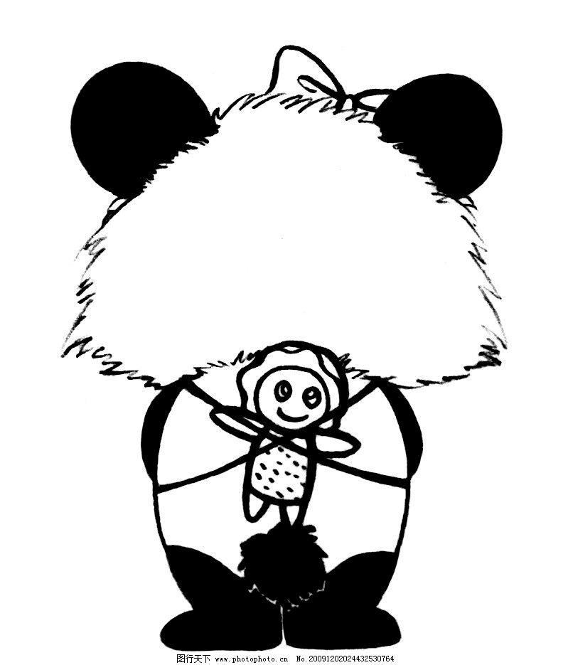 熊猫宝宝 野生动物