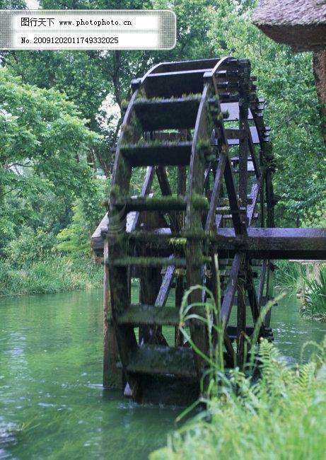森林水车钢琴简谱