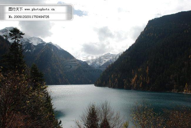 九寨 风景 高清背景 山水 照片