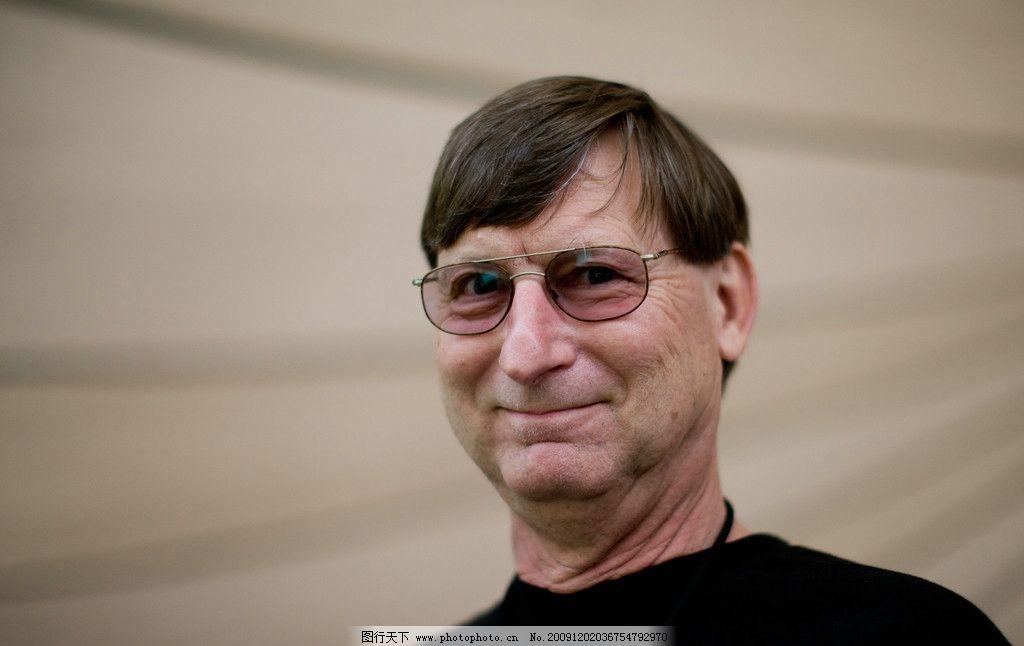 外国中年人 高清 眼镜 首富 男性男人 人物图库 摄影