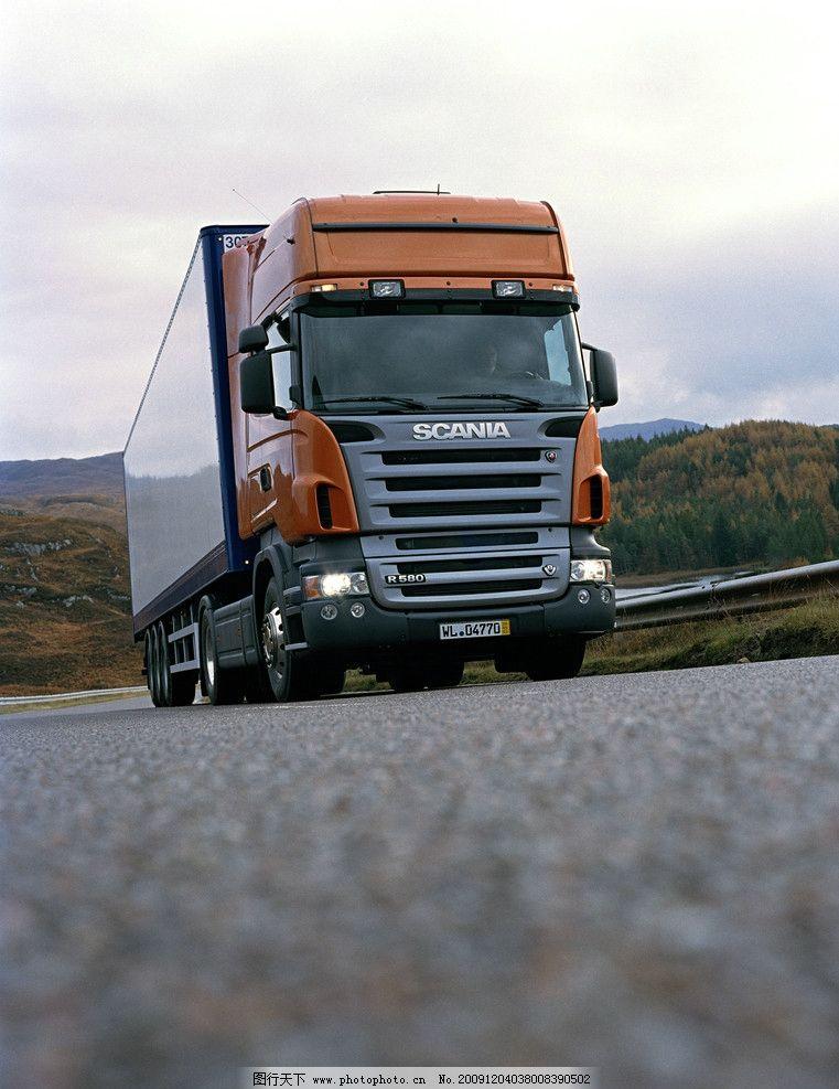 汽车运输物流-瑞澳卡车高清图片