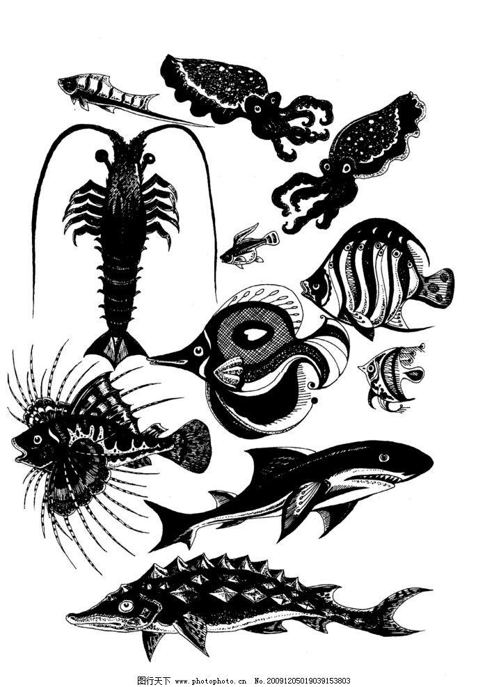 现代装饰动物图案15图片