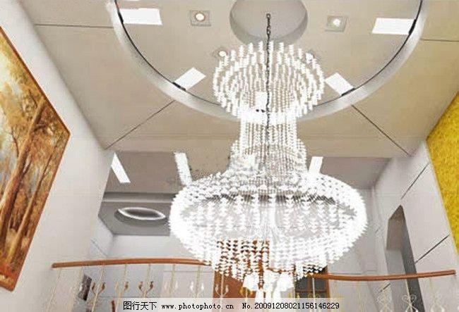 欧式水晶灯3d模型