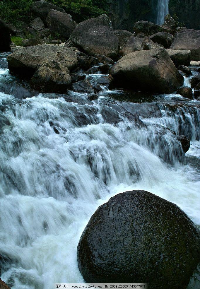 水浪 波浪 涟漪 山 石 石头 九鲤湖 莆田 风景 自然风景 山水风景