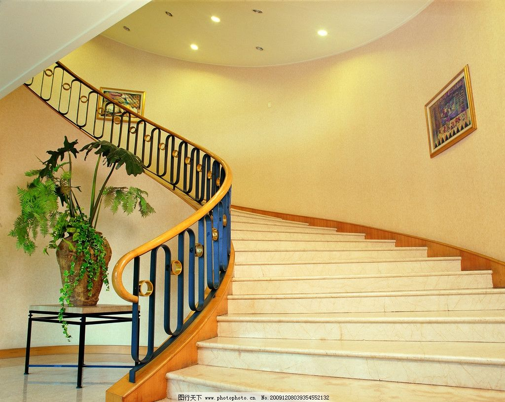 图纸 大堂楼梯 楼梯设计 扶手 吊顶 地板 室内设计 装饰 装潢 装修 样