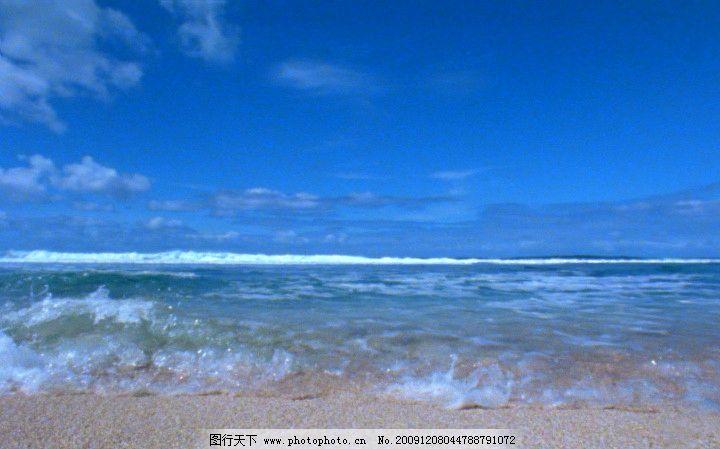海潮 高清晰 大海 海滩 海浪 浪花 动态素材 视频剪辑 自然景观 多