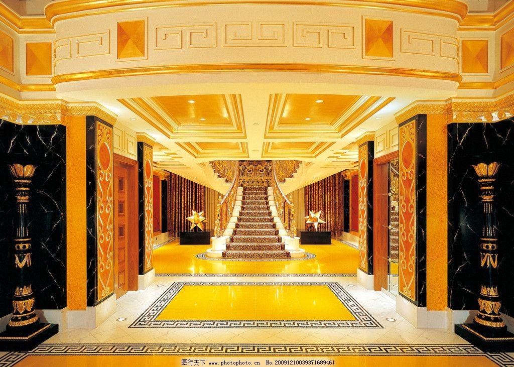 奢华 大厅 贵族 欧式 金碧辉煌图片