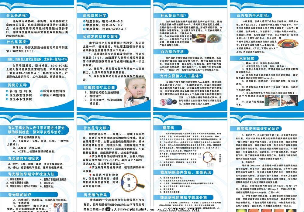 眼科知识 眼科 儿童 眼睛 保护 展板 海报 医院 cdr 素材 展板模板