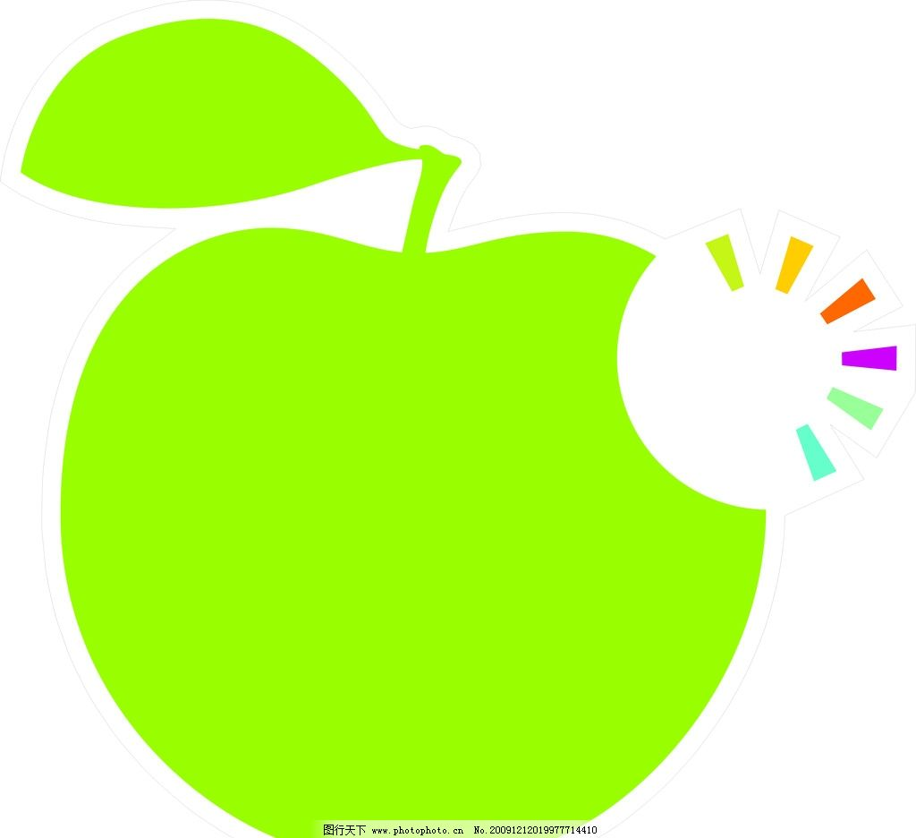 苹果 矢量图 水果设计 企业logo标志 标识标志图标 矢量 cdr