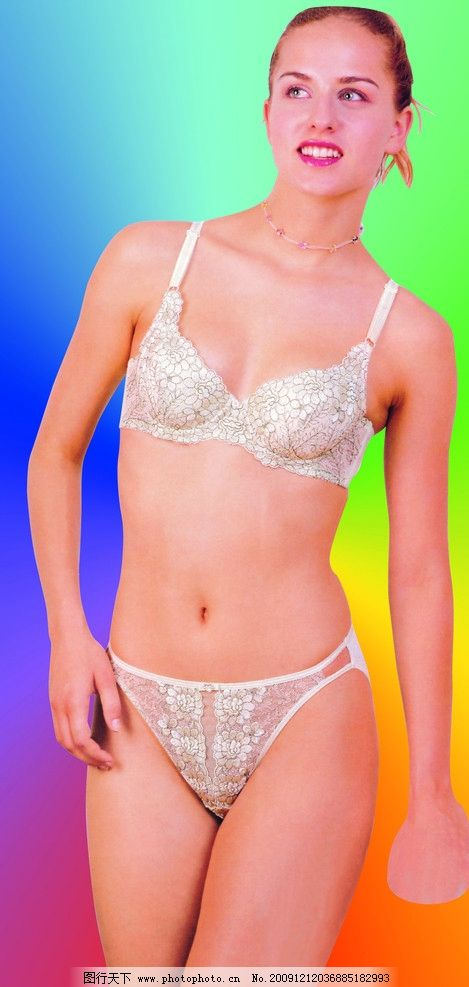 女人内衣裤模特图片