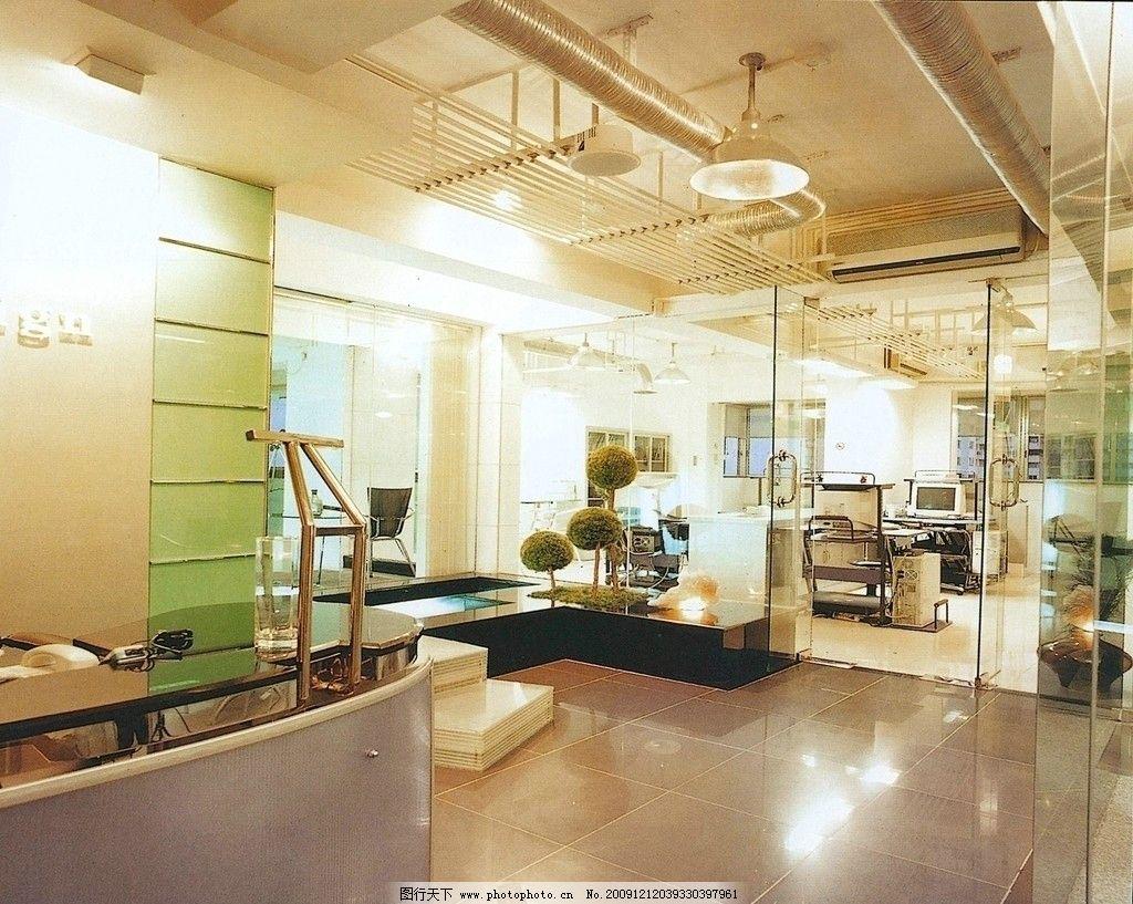 室内设计素材图 公司装修效果图图片