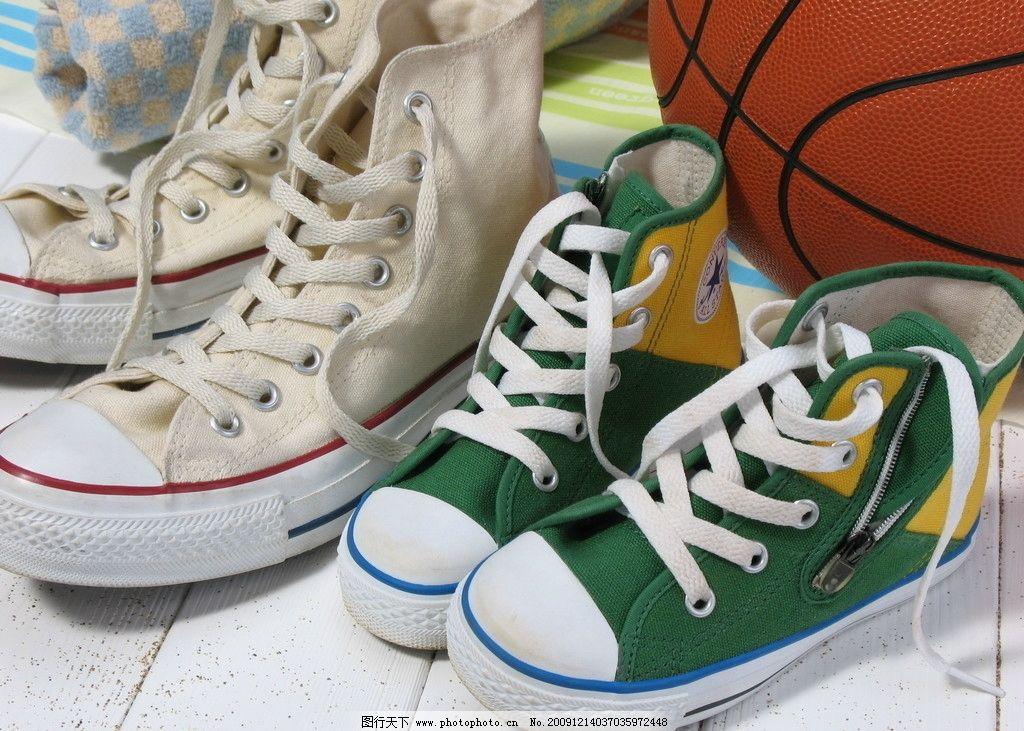 鞋子 生活 篮球 绳子 生活素材 摄影