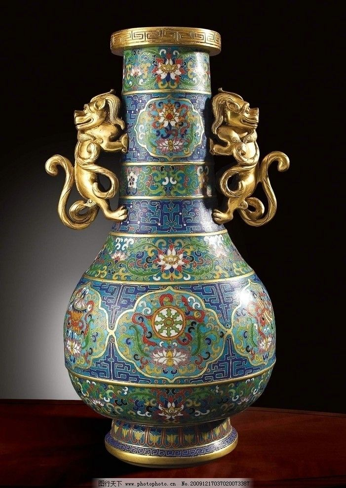 景泰蓝 瓷器 工艺品 陶瓷 瓷瓶 摆件 摆饰 装饰品 古玩 古董图片